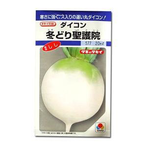 野菜の種/種子 冬どり聖護院・だいこん・しし 20ml (メール便可能)タキイ種苗|vg-harada