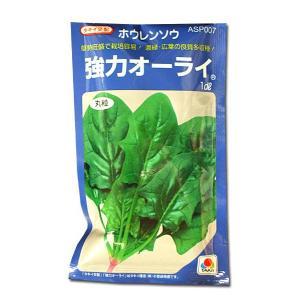 野菜の種/種子 強力オーライ・ほうれんそう 1dl(メール便発送)タキイ種苗|vg-harada