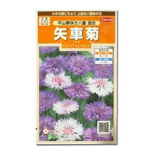 花の種 矢車菊[平山寒咲き八重 混合] 2ml(メール便発送)|vg-harada