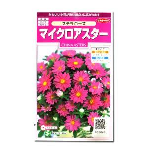 花の種 マイクロアスター[ステラ ローズ] 0.5ml(メール便発送)|vg-harada