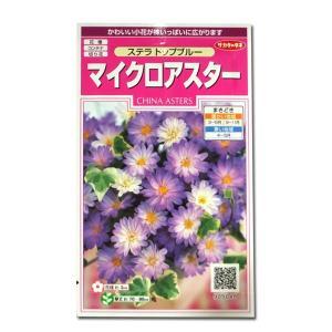花の種 マイクロアスター[ステラ トップブルー] 0.5ml(メール便可能)|vg-harada