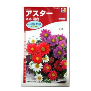 花の種 アスター[ネネ 混合] 0.5ml(メール便可能) vg-harada