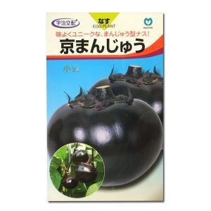 野菜の種/種子 京まんじゅう・ナス 50粒 (メール便可能)|vg-harada