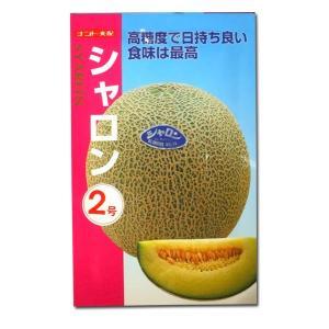 野菜の種/種子 シャロン 2号・メロン 7粒 (メール便可能)|vg-harada