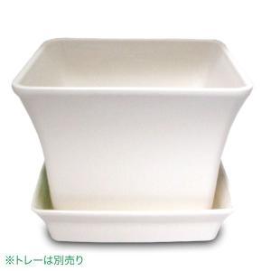 ベビーリーフプランター 12型 ホワイト ガーデニング・プランター|vg-harada