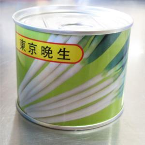 野菜の種/種子 東京晩生葱・ねぎ 2dl缶入り  (大袋)|vg-harada