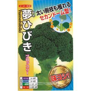 野菜の種/種子 夢ひびき ブロッコリー 0.7ml (メール便可能) vg-harada