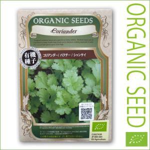 有機種子/野菜の種 コリアンダー/パクチー/シャンサイ 1.1g(メール便可能)|vg-harada