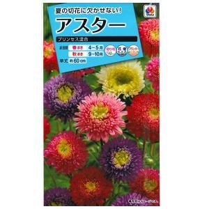 花の種 アスター[プリンセス混合] 1ml(メール便可能)|vg-harada