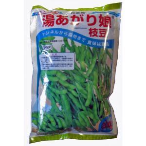野菜の種/種子 湯あがり娘・えだまめ 枝豆 2000粒  (大袋)|vg-harada