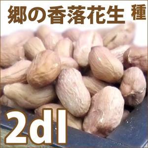 野菜・種/苗 郷の香落花生/落花生・ピーナッツ 生もの種 量り売り2dl [茶・白]|vg-harada