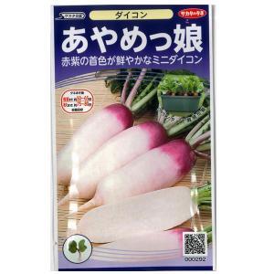 野菜の種/種子 あやめっ娘 ・だいこん ダイコン 大根 3ml(メール便発送)サカタのタネ 種苗|vg-harada