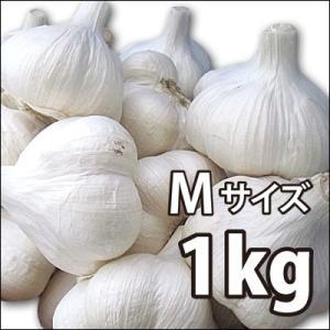 〔赤字覚悟!激安大特価〕野菜・種/苗 ニンニク にんにく 種子 国産 青森県産 福地ホワイト Mサイズ 1kg|vg-harada