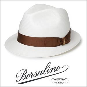 ボルサリーノ パナマ ハット メンズ イタリア製 中折れ帽...