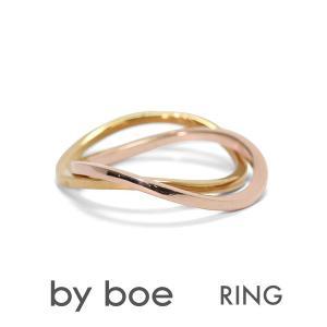 バイボー BY BOE リング MR-4 指輪 14K ゴールド シルバー ピンクゴールド 指輪