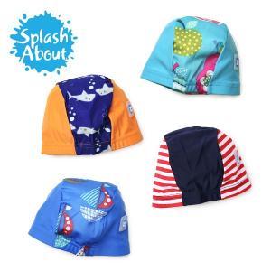 スプラッシュアバウト ベビー スイムキャップ 水泳帽 紫外線対策 ベビースイミング