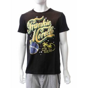 フランキーモレロ frankie morello Tシャツ 半袖 メンズ FS12 6324 ブラック 目玉商品17AW|viaspiga