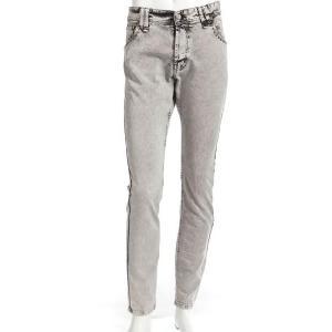 ガリアーノ Galliano パンツ ジーンズ メンズ YR10A4 71705 ブラック 目玉商品17AW|viaspiga