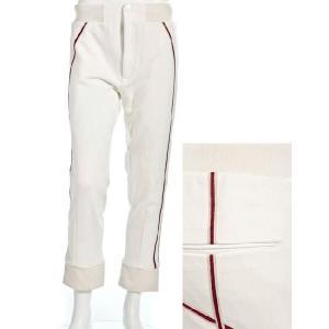 アレキサンダーマックイーン AlexanderMcQueen パンツ メンズ 272978 QK580 ホワイト 目玉商品17AW|viaspiga