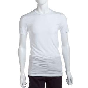 ディオールオム DIOR HOMME Tシャツアンダーウェア 半袖 メンズ IDM200860 ホワイト 目玉商品17AW viaspiga
