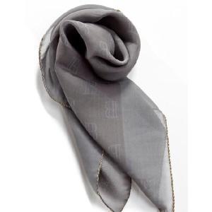 バルマン BALMAIN スカーフ Z46 JU39 グレー 目玉商品17AW|viaspiga