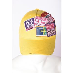 ディースクエアード DSQUARED2 キャップ ベースボールキャップ 帽子 S16BC400205C イエロー viaspiga