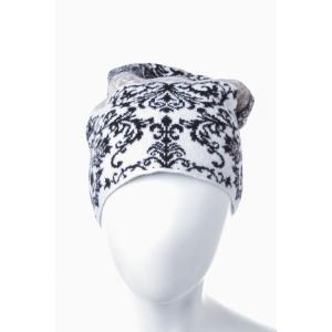 2016年秋冬新作 ジェンマアッカウォモ GEMMA H ニットキャップ ニット帽 帽子 UC JQ14 CAP ホワイト SALE16AW2|viaspiga