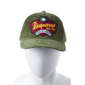 2016年秋冬新作 ディースクエアード DSQUARED2 キャップ ベースボールキャップ 帽子 W16BC1007109 MILITARY SALE16AW viaspiga
