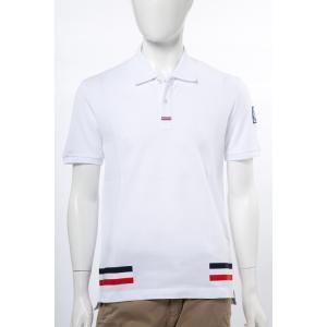 2017年春夏新作 モンクレールガムブルー MONCLER GB ポロシャツ 半袖 メンズ 8316800 84967 ホワイト 2017SS_SALE|viaspiga