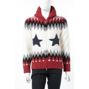 ジェンマアッカウォモ GEMMA H セーター ニット ジップアップセーター メンズ USG CW15S 110P レッド 2017年秋冬新作 2017AW_SALE|viaspiga