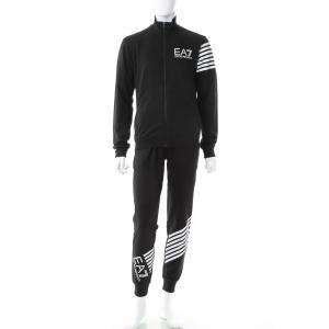 Emporio Armani EA7 Mens Logo Design Full Zip Tracksuit 3GPV70 Herren-Sport-Trainingsanzüge