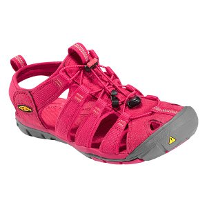 30%OFF vic2セール キーン KEEN Womens Clearwater CNX Barberry/HotCoral クリアウォーター サンダル vic2