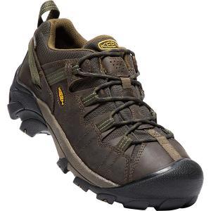 キーン KEEN Mens Targhee II WP Canteen/Dark Olive ターギー2ミッド ウォータープルーフ 防水 メンズ トレッキングシューズ 登山靴|vic2