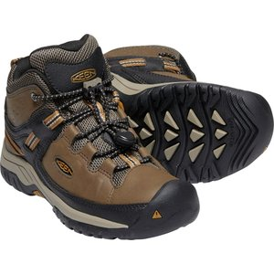 30%OFF vic2セール キーン KEEN Youth Targhee Mid WP Dark Earth/Golden Brown|vic2