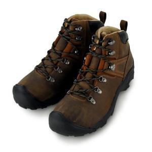 キーン KEEN Mens Pyrenees Boot Syrup ピレニーズ 登山靴 メンズ トレッキングブーツ|vic2