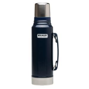 スタンレー STANLEY クラシック真空ボトル 1L ネイビー ボトル 水筒 魔法瓶