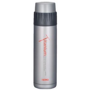 サーモス THERMOS 山専ボトル チタンボトル チタングレー 0.48L 水筒 ボトル チタンボトル グレー|vic2