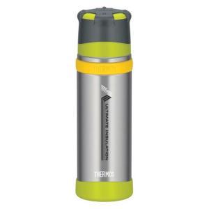 サーモス THERMOS 山専ボトル ステンレスボトル ライムグリーン 0.5L 水筒 マイボトル|vic2