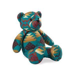 ペンドルトン PENDLETON Lucky Bear Turquoise ラッキーベア ぬいぐるみ vic2