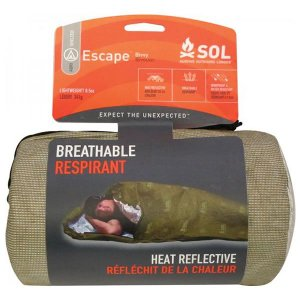 SOL SURVIVE OUTDOORS LONGER エスケープヴィヴィ O.D マミータイプの寝袋状 透湿性素材|vic2