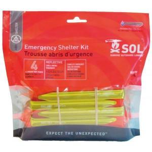 SOL SURVIVE OUTDOORS LONGER エマージェンシーシェルターキット シェルター組み立てセット|vic2
