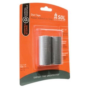 SOL SURVIVE OUTDOORS LONGER ダクトテープ SOL 補修用テープ 補強用 強粘着 修理用具|vic2