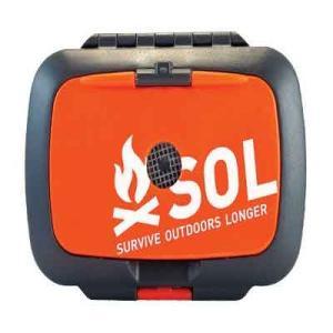 SOL SURVIVE OUTDOORS LONGER オリジン マルチツール ナイフ コンパス ライター LEDライト 発火剤|vic2