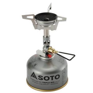 耐風性を備えたストーブで風防を使うことなく、炎が流れにくく短時間で水を沸騰させることが可能です。寒さ...