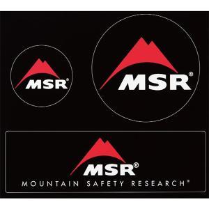 MSR MSRステッカー(3枚セット) マウンテンセーフティ...