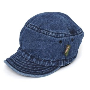 ファッティー Phatee HALF CAP WASHED INDIGO ハーフキャップ ウォッシュドインディゴ キャップ 帽子|vic2