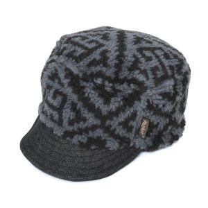 ファッティー Phatee HALF CAP AZTEC BLACK BOA ハーフキャップ アズテックブラックボア 帽子 キャップ|vic2