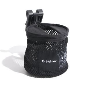 ヘリノックス Helinox カップホルダー Cup Holder Black コップ ボトル チェア|vic2