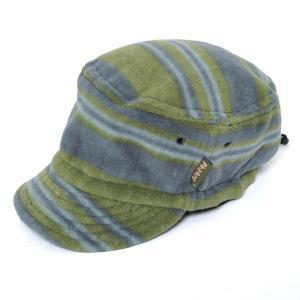 ファッティー Phatee HALF CAP FLEECE MULTI BORDER ハーフキャップフリースボーダー キャップ 帽子|vic2