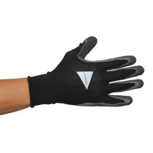アンドワンダー and wander rubber glove black ラバー グローブ 手袋 ゴム